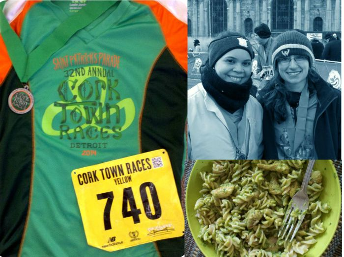St. Patrick's Parade Corktown 5k Race Review with Post Race Fuel Recipe